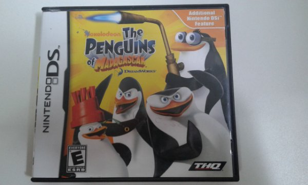 Game para Nintendo DS - The Penguins Of Madagascar