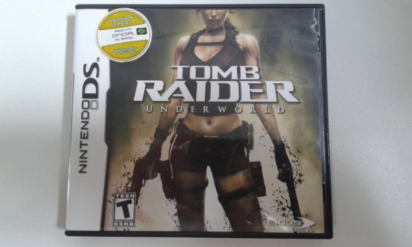 Game para Nintendo DS - Tomb Raider Underworld