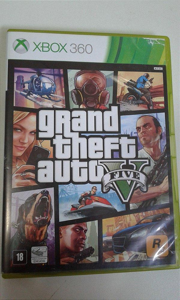 Game Para Xbox 360 - Grand Theft Auto V