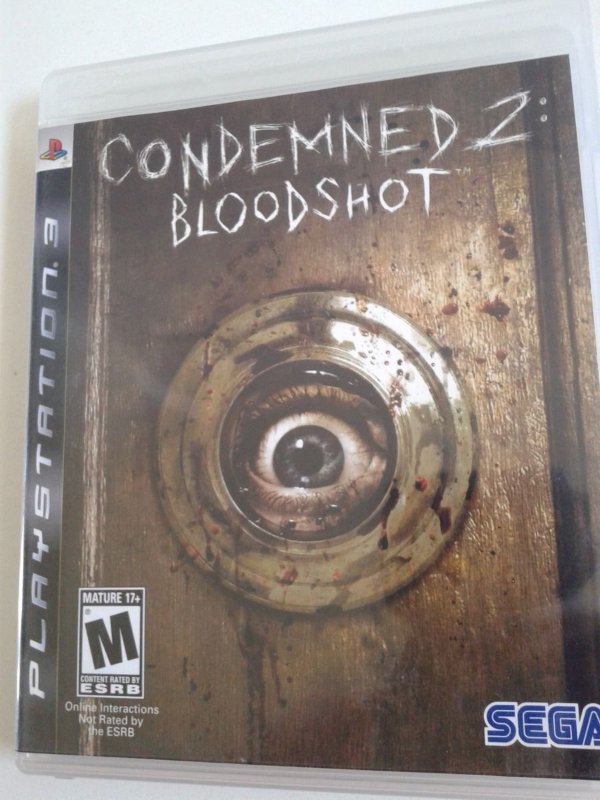 Game para PS3 - Condemned 2 Bloodshot