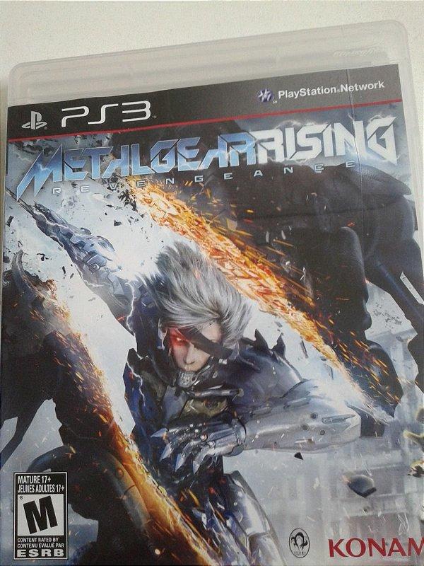 Game para PS3 - Metal Gear Rising Revengeance