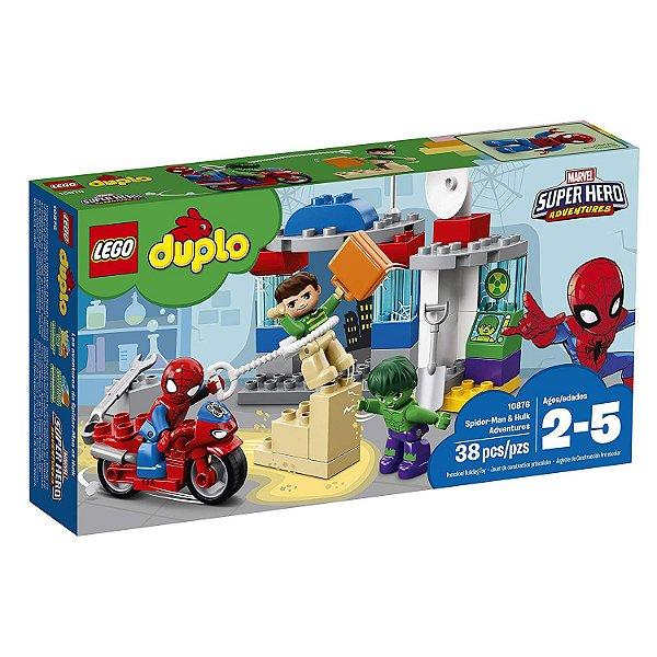 Lego Duplo - As Aventuras de Homem-Aranha e Hulk 10876
