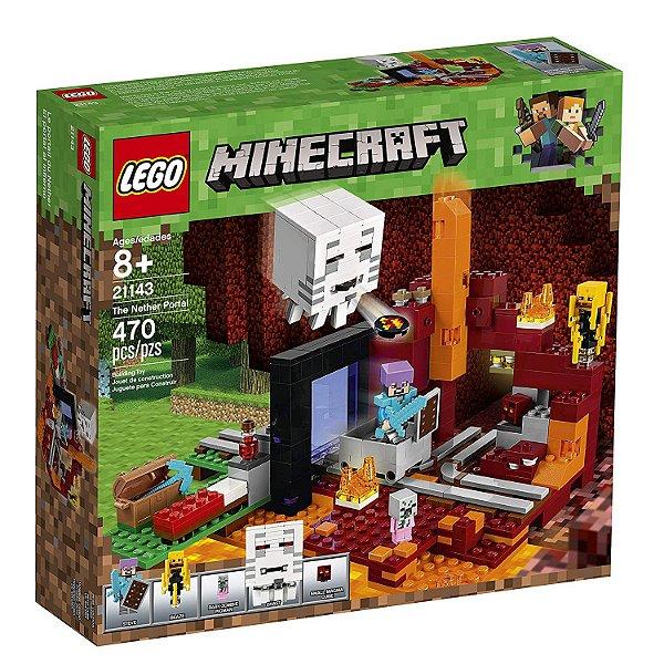 Lego Minecraft - O Portal do Nether 21143
