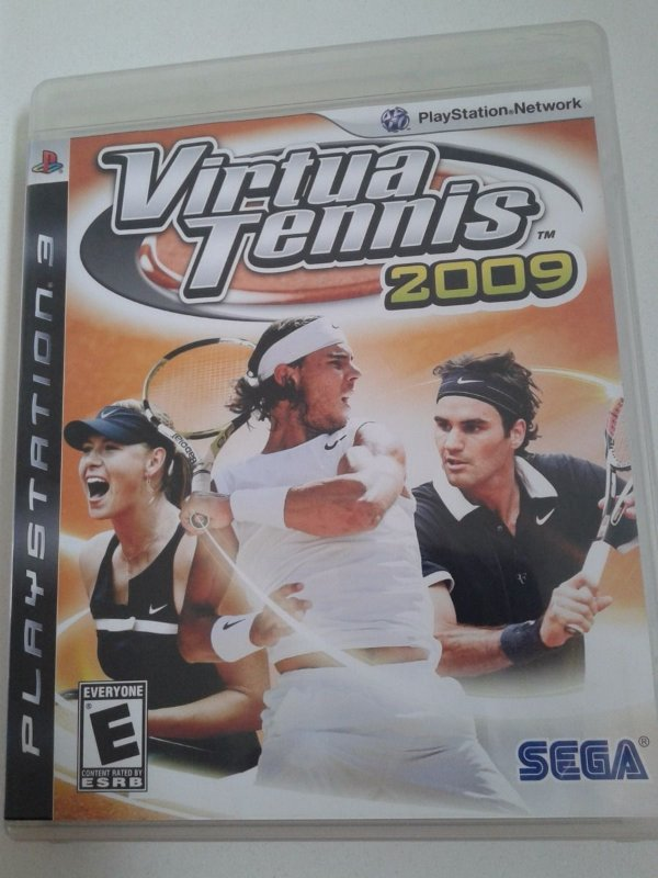 Game para PS3 - Virtua Tennis 2009