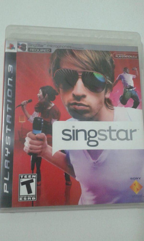 Game para PS3 - SingStar