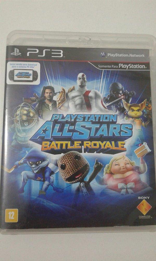 Game para PS3 - PlayStation All-Stars Battle Royale