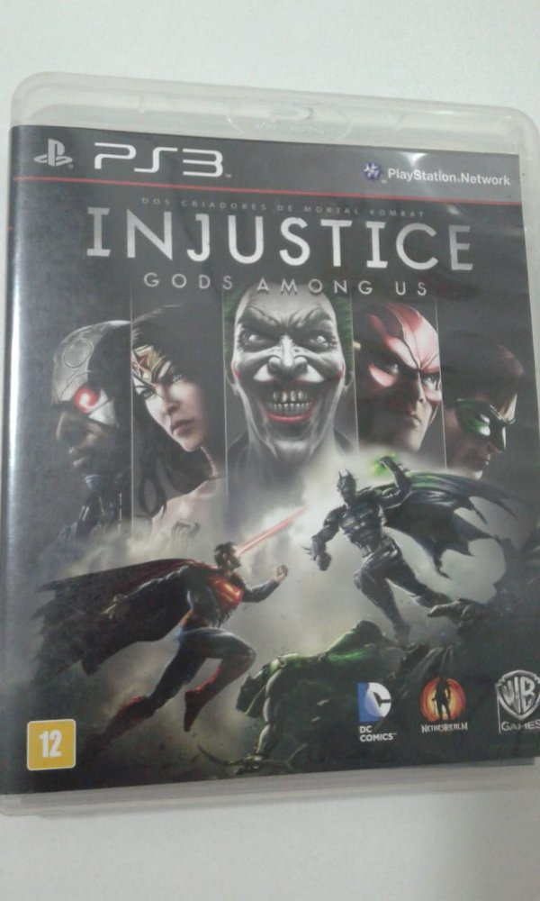 Game para PS3 - Injustice Gods Among Us