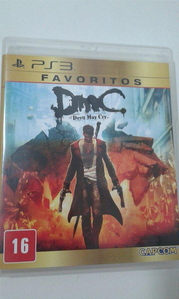 Game para PS3 - DMC Devil May Cry (Favoritos)
