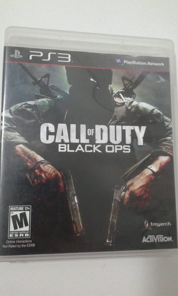 Game para PS3 - Call Of Duty - Black Ops