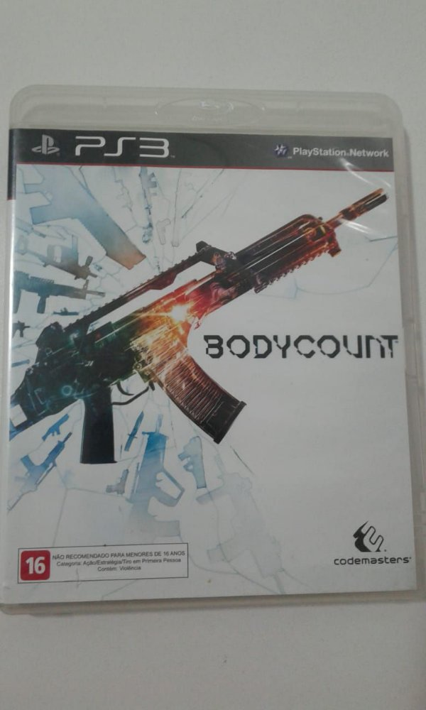 Game para PS3 - Bodycount