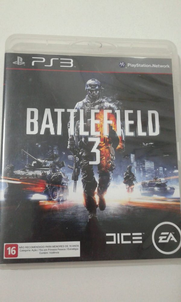 Game para PS3 - Battlefield 3