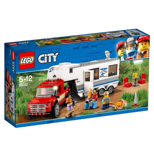 LEGO City - Pick-up e Trailer 60182