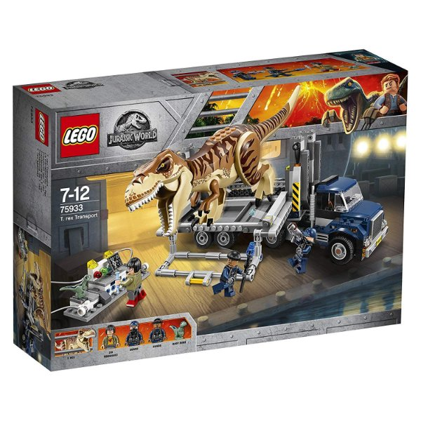 LEGO Jurassic World - Transportando o T-Rex 75933