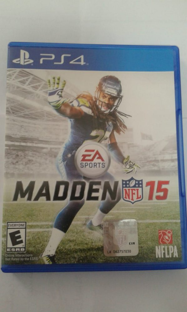Game Para PS4 - Madden NFL 15