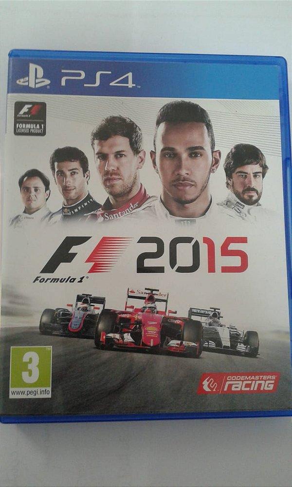 Game Para PS4 - Formula 1 2015