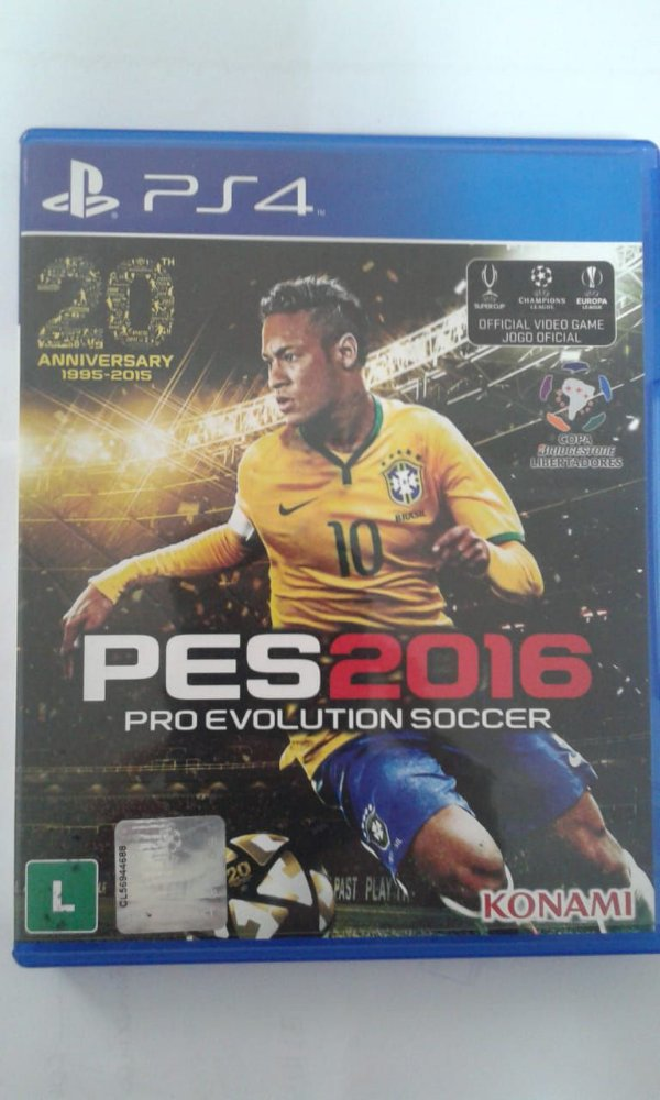 Game Para PS4 - PES Pro Evolution Soccer 2016