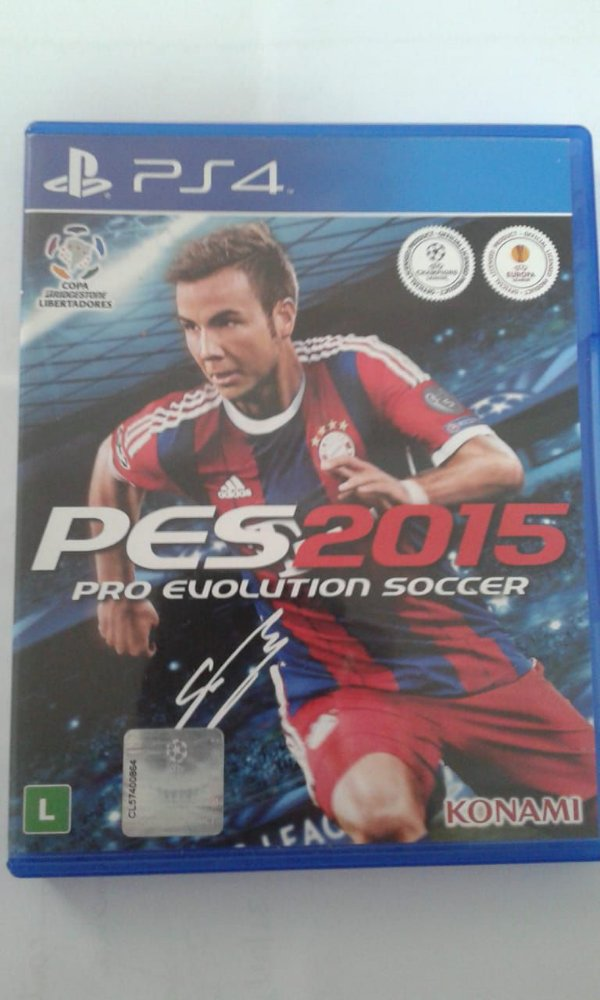 Game Para PS4 - PES Pro Evolution Soccer 2015