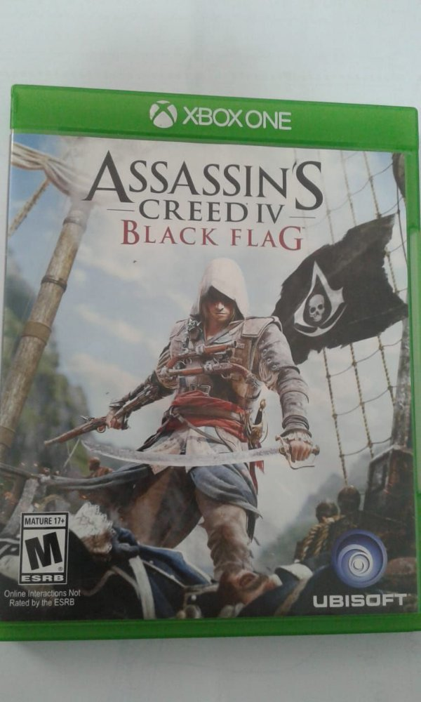 Game para Xbox One - Assassin's Creed Iv Black Flag