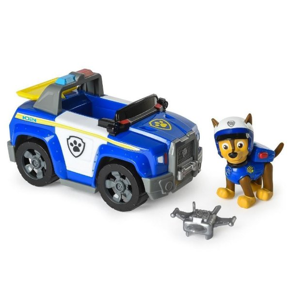 Patrulha Canina - Boneco com Veículo Chase Patrol Cruiser