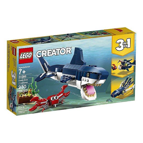 Lego Creator - Criaturas Do Fundo Do Mar 31088