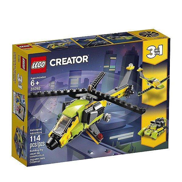 Lego Creator - Aventura De Helicóptero 31092