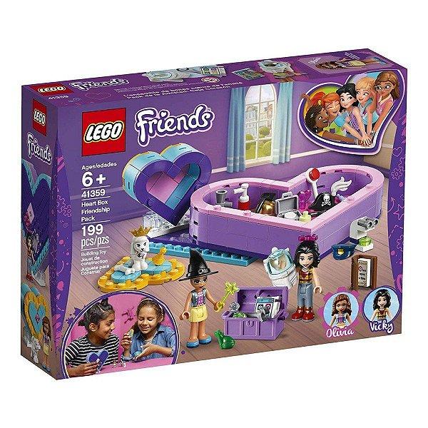 Lego Friends - Pack Amizade Caixa Coração 41359