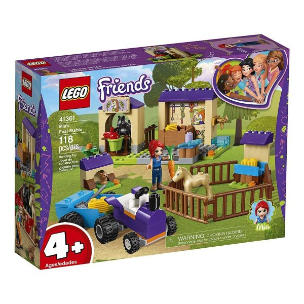Lego Friends - Estábulo Do Potro Da Mia 41361