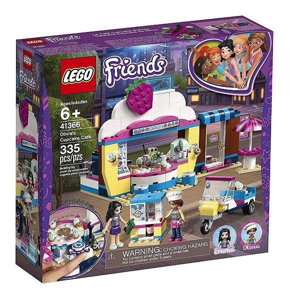 Lego Friends - Café De Cupcakes Da Olivia 41366
