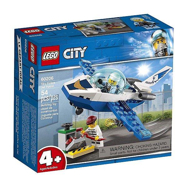 Lego City - Polícia Aérea Jato Patrulha 60206