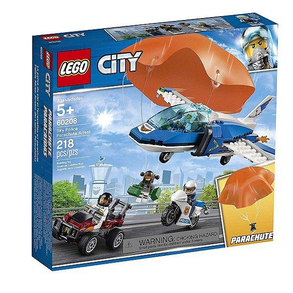Lego City - Polícia Aérea Detenção De Paraquedas 60208