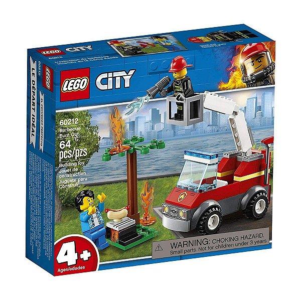 Lego City - Extinção De Fogo No Churrasco 60212