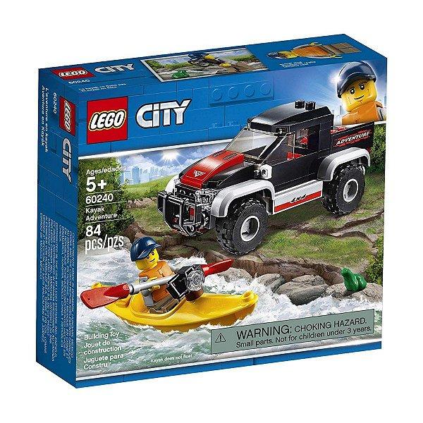 Lego City - Aventura Com Caiaque 60240