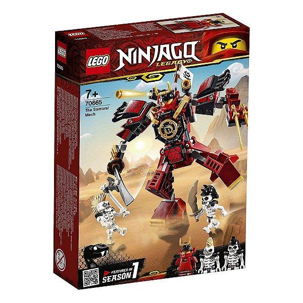 Lego Ninjago - O Robô Samurai 70665