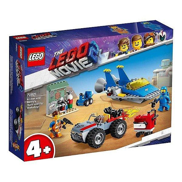 Lego Movie 2 - Oficina Constrói E Conserta De Emmet E Benny! 70821