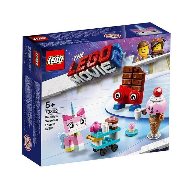 Lego Movie 2 - Os Amigos Mais Queridos De Sempre Da Unikitty! 70822