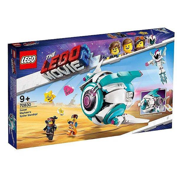 Lego Movie 2 - O Ônibus Espacial Systar Do General Caos 70830