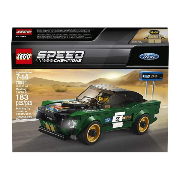 Lego Speed Champions - Ford Mustang Fastback 1968 75884
