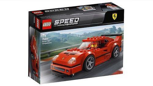Lego Speed Champions - Ferrari F40 Competizione 75890