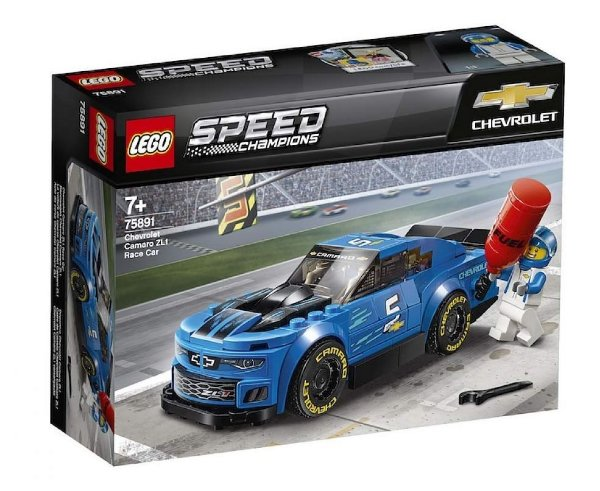 Lego Speed Champions - Carro De Corrida Chevrolet Camaro Zl1 75891