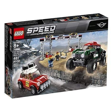 Lego Speed Champions - 1967 Mini Cooper S Rally e 2018 MINI John Cooper Works Buggy 75894