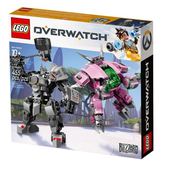 Lego Overwatch - D.va & Reinhardt 75973