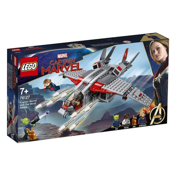 Lego Super Heroes - Captain Marvel E O Ataque Do Skrul 76127