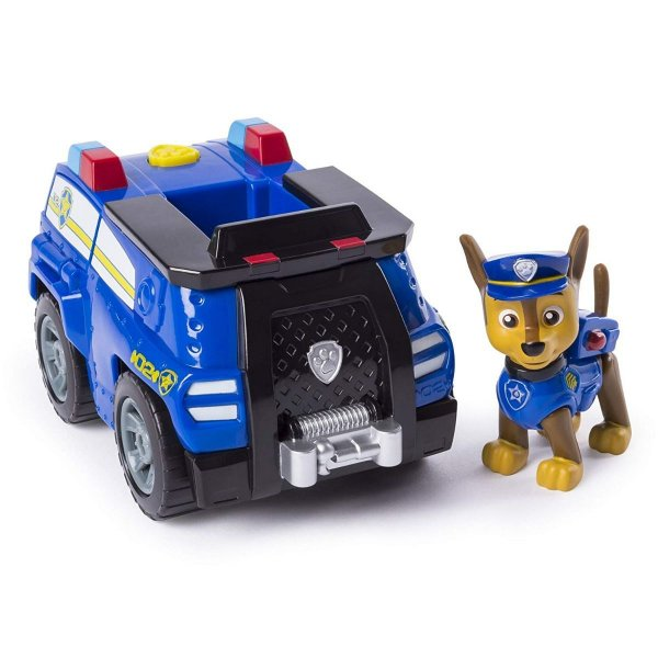 Patrulha Canina - Boneco com Veículo Chase Transforming Police Cruiser