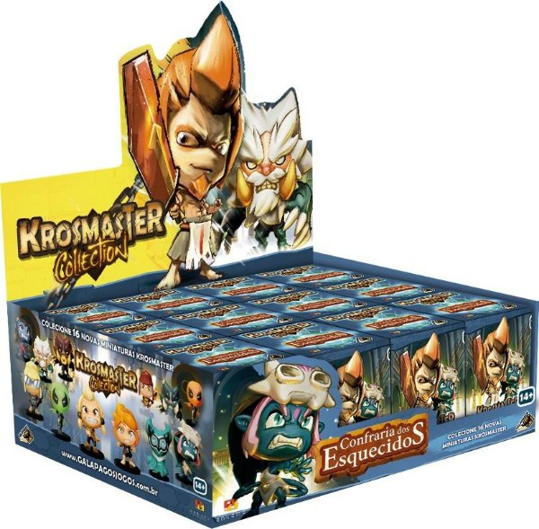 Jogo Krosmaster Arena Miniatura Surpresa - Box Temporada 6 C/16
