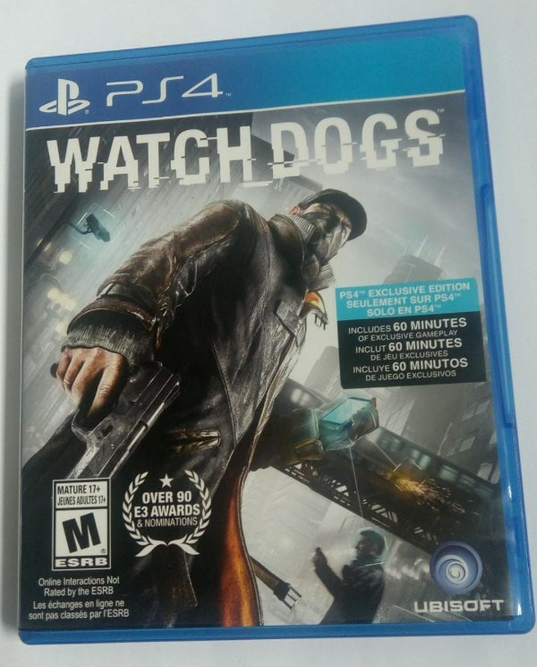 Game Para PS4 - Watch Dogs