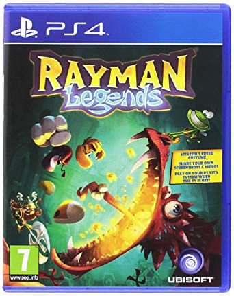 Game Para PS4 - Rayman Legends