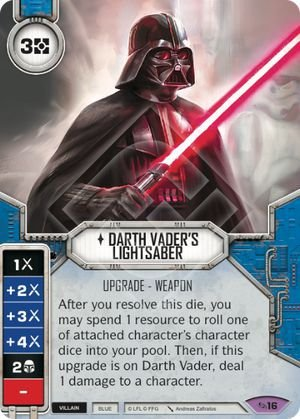 SW Destiny - Darth Vader's Lightsaber