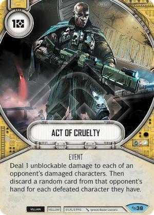 SW Destiny - Act Of Cruelty