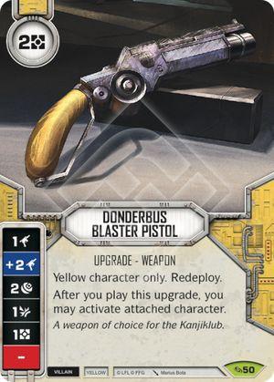 SW Destiny - Donderbus Blaster Pistol