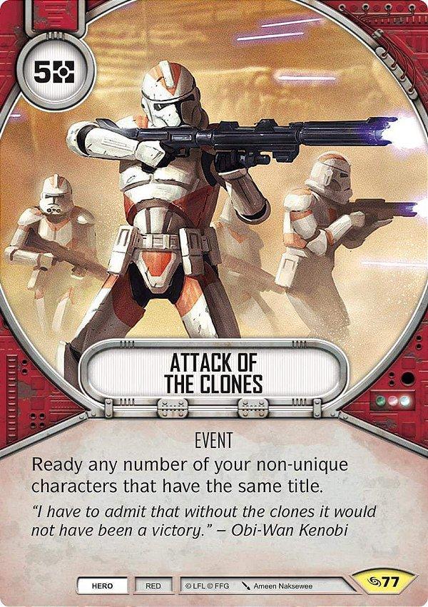 SW Destiny - Attack of The Clones